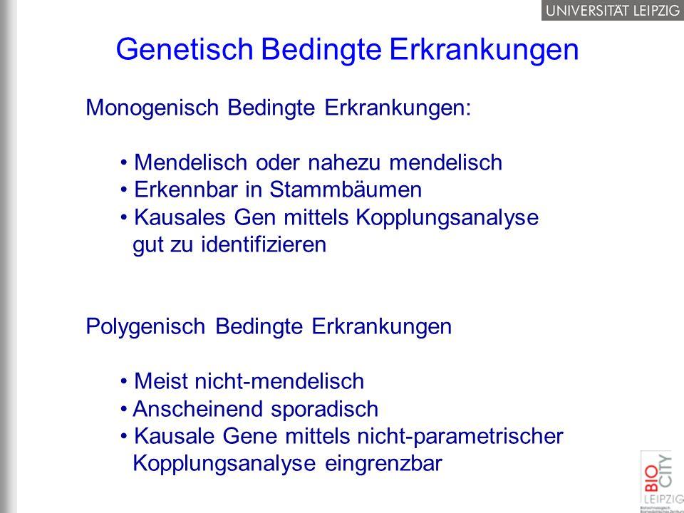 Genetisch Bedingte Erkrankungen