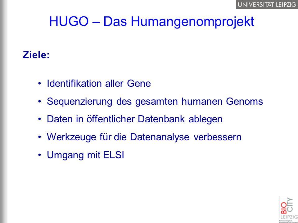 HUGO – Das Humangenomprojekt