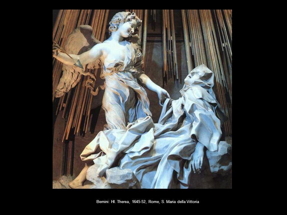 Bernini: Hl. Therea, 1645-52, Rome, S. Maria della Vittoria