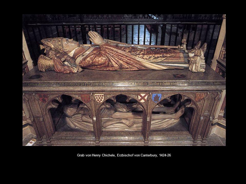 Grab von Henry Chichele, Erzbischof von Canterbury, 1424-26