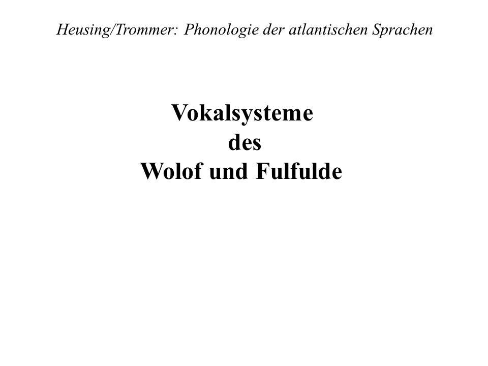 Heusing/Trommer: Phonologie der atlantischen Sprachen