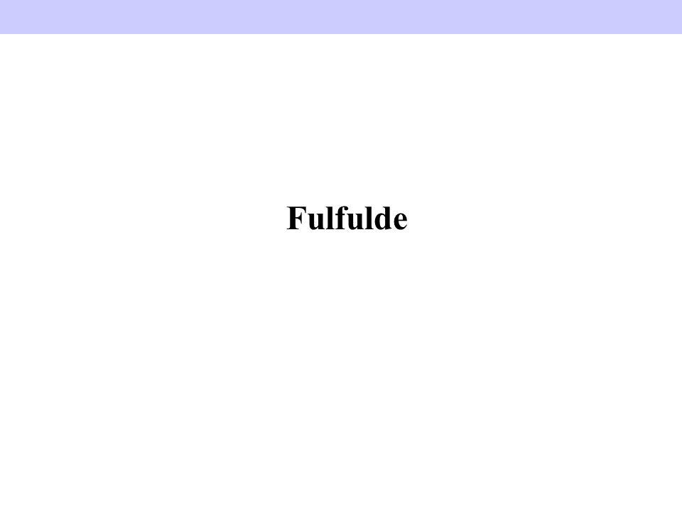 Fulfulde