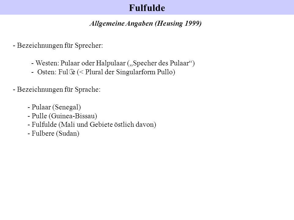 Allgemeine Angaben (Heusing 1999)