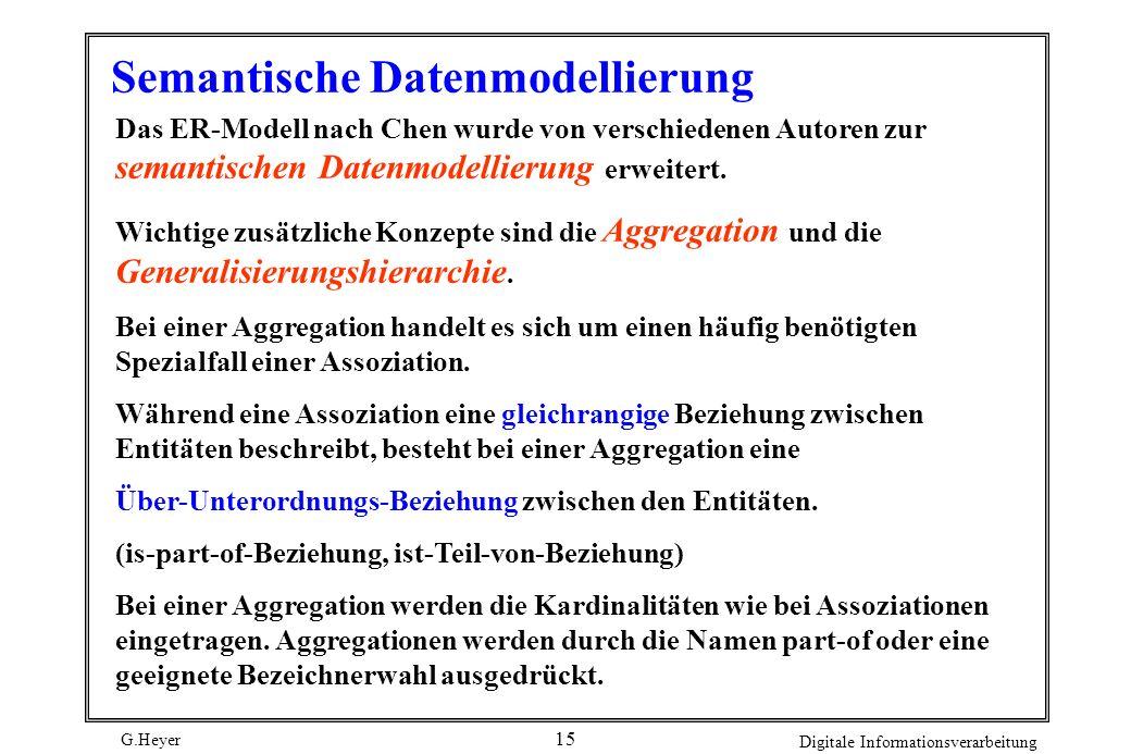 Semantische Datenmodellierung