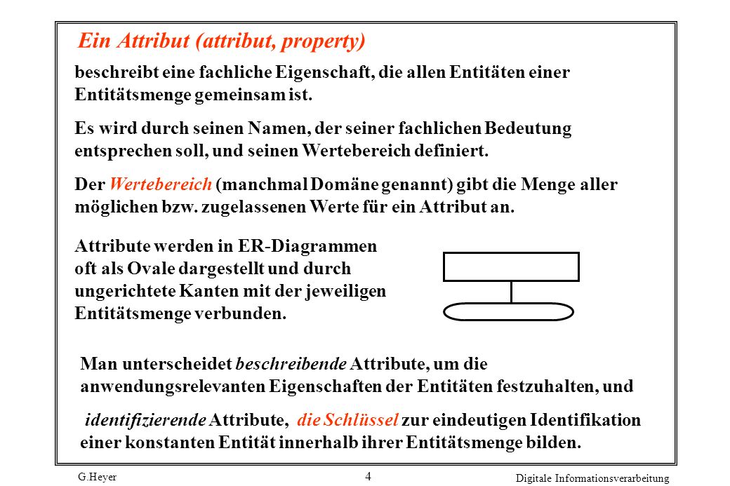 Ein Attribut (attribut, property)