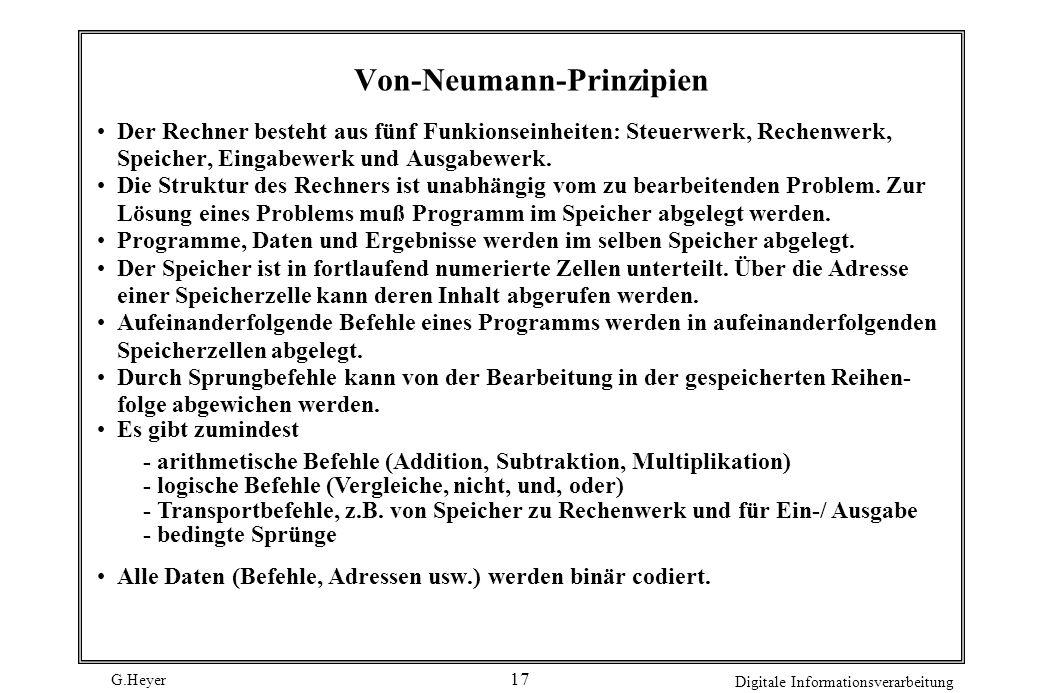 Von-Neumann-Prinzipien