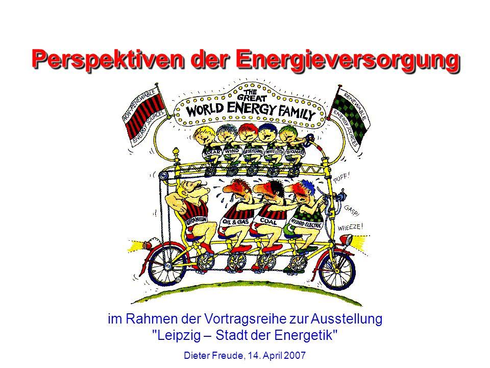 Perspektiven der Energieversorgung