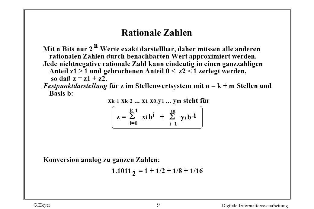 Rationale Zahlen yi b n