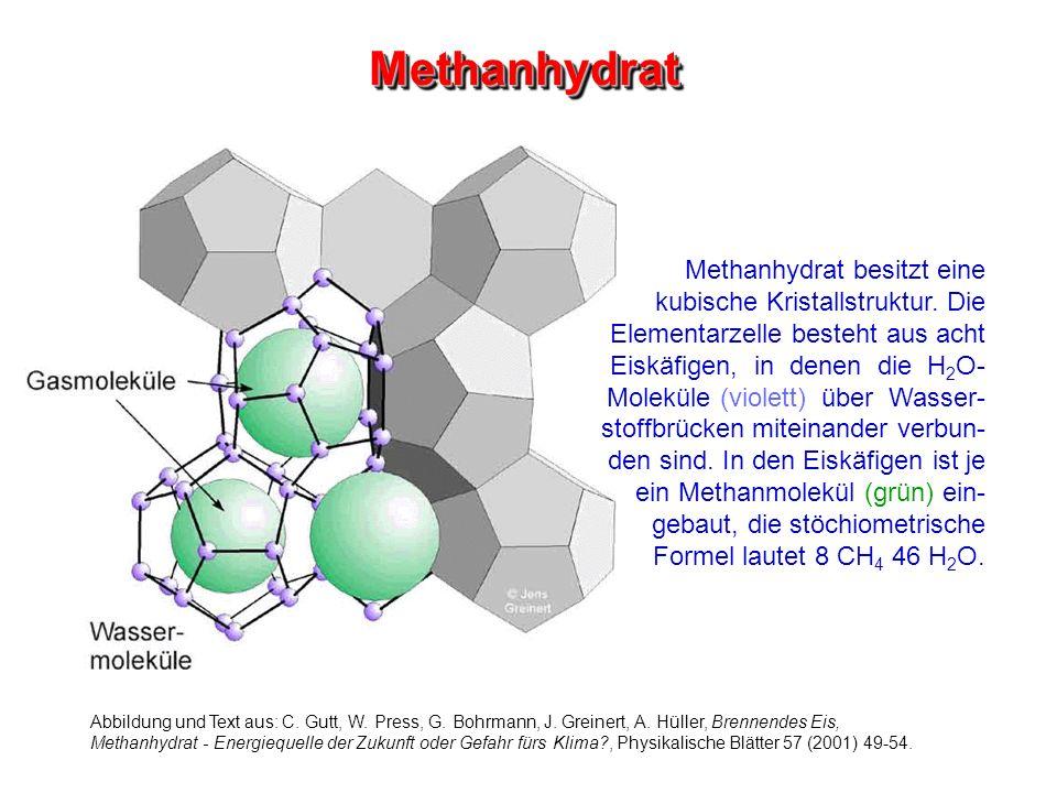 Methanhydrat