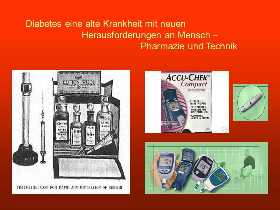 Diabetes eine alte Krankheit mit neuen