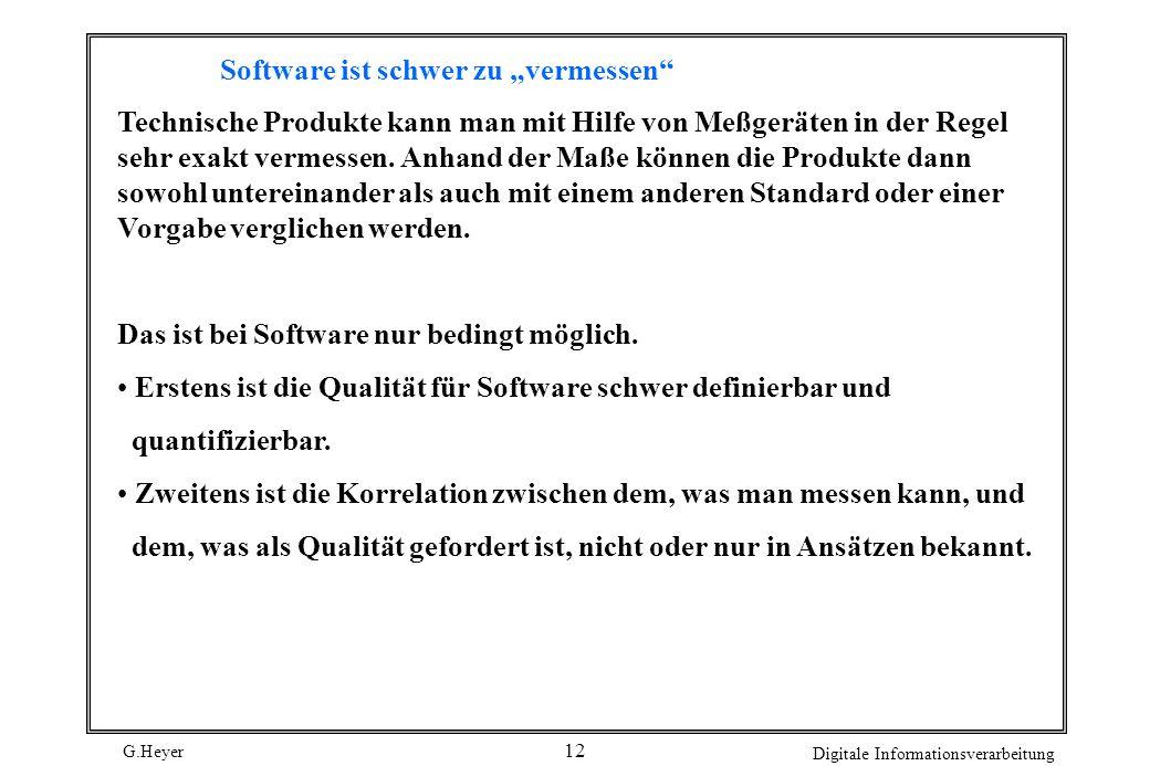 """Software ist schwer zu """"vermessen"""