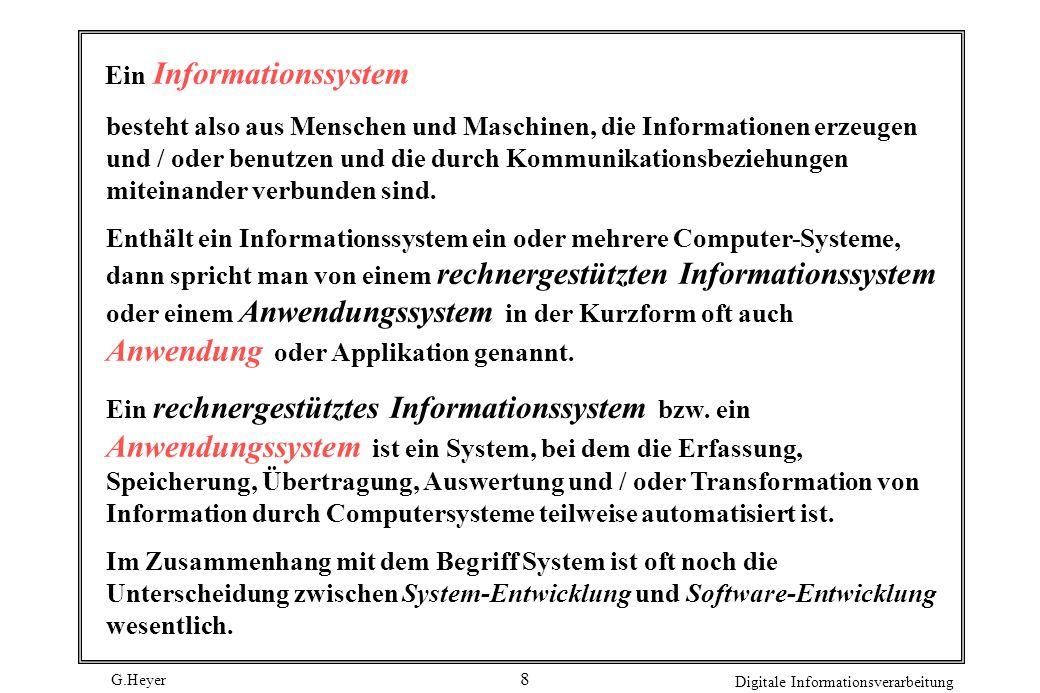 Ein Informationssystem