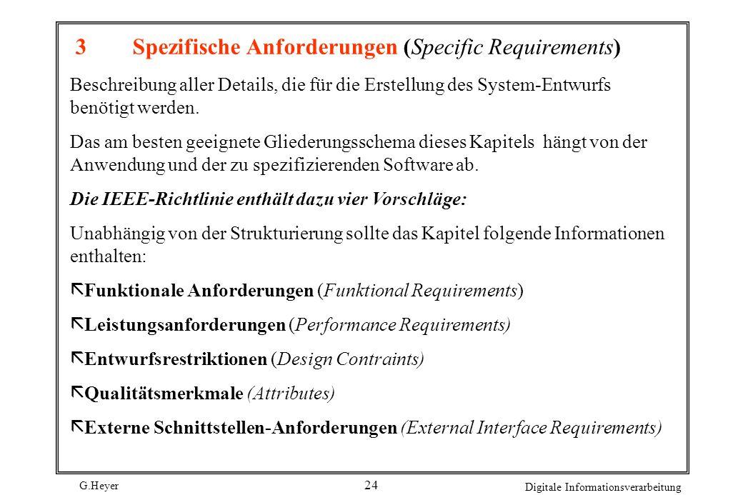 3 Spezifische Anforderungen (Specific Requirements)