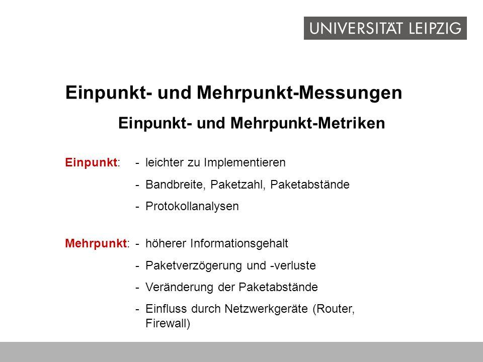 Einpunkt- und Mehrpunkt-Metriken