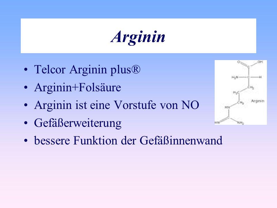 Arginin Telcor Arginin plus® Arginin+Folsäure