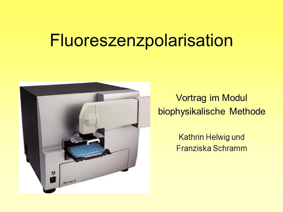 Fluoreszenzpolarisation