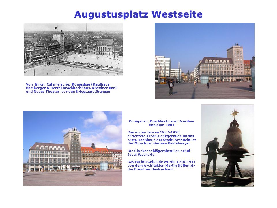 Augustusplatz Westseite