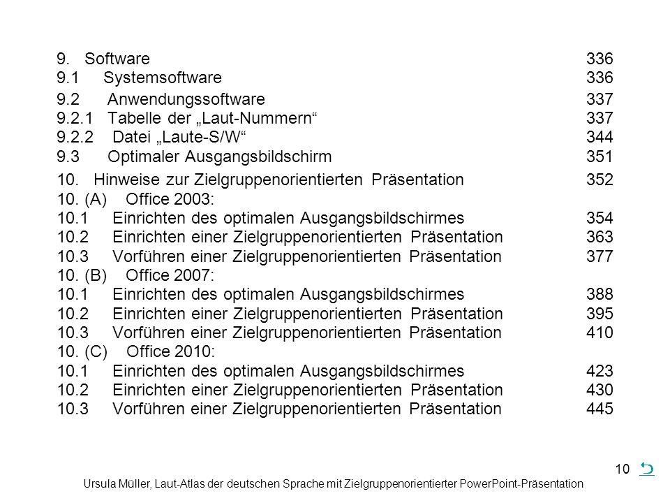9. Software. 336 9. 1 Systemsoftware. 336 9. 2 Anwendungssoftware