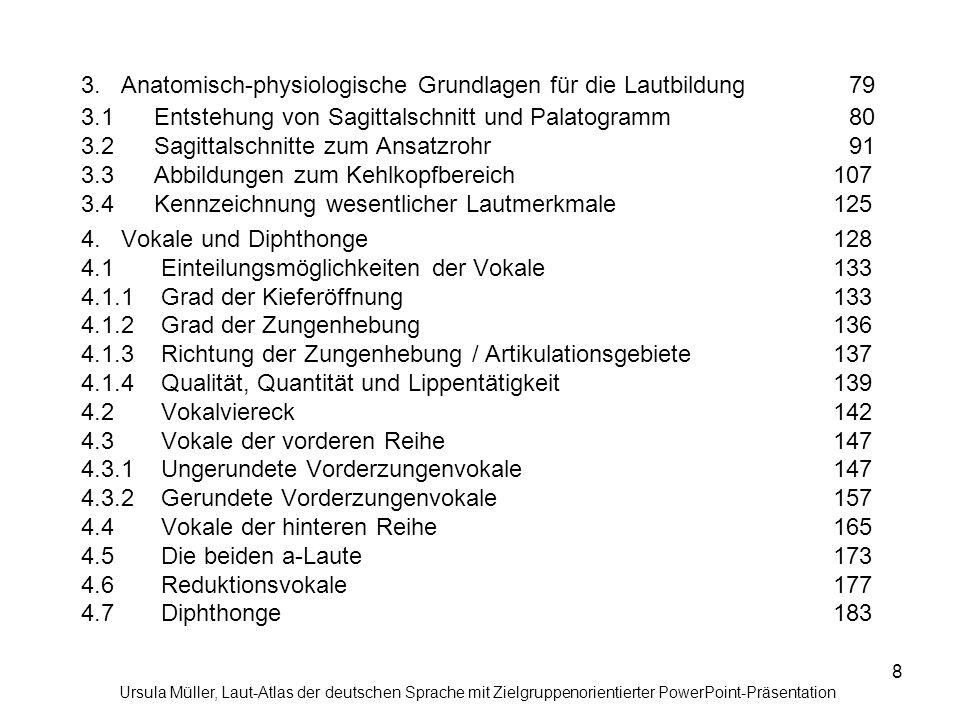 3. Anatomisch-physiologische Grundlagen für die Lautbildung. 79 3