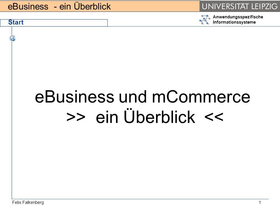 eBusiness und mCommerce >> ein Überblick <<