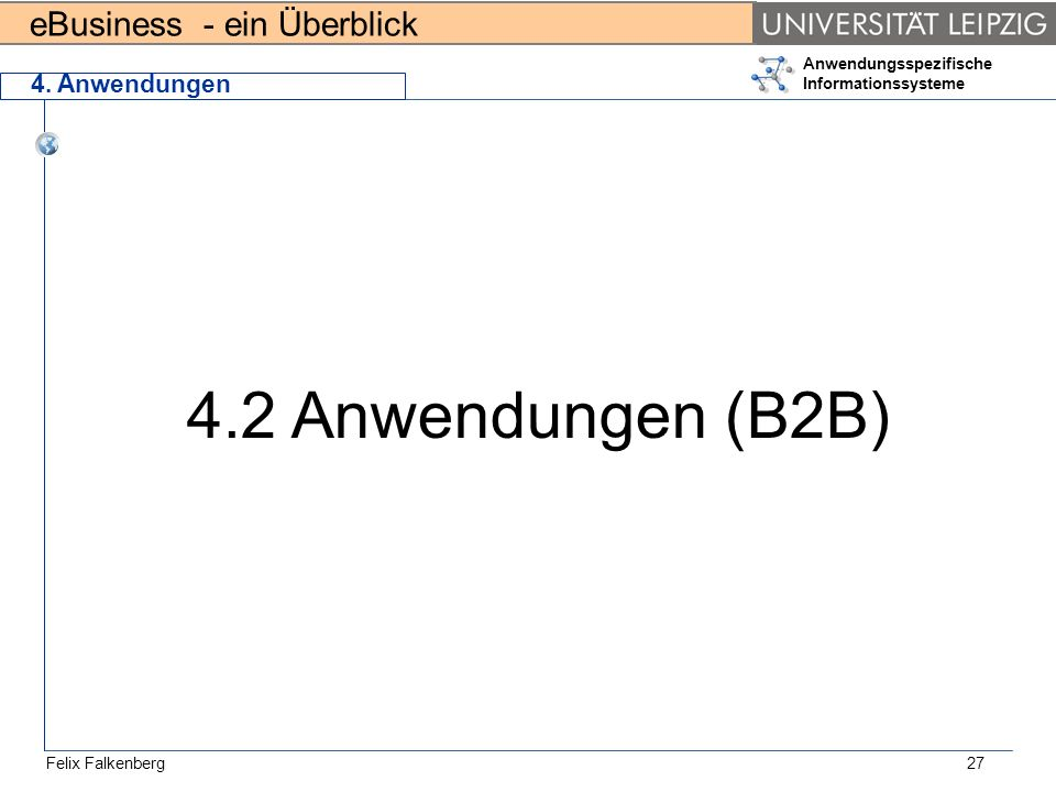4. Anwendungen 4.2 Anwendungen (B2B)