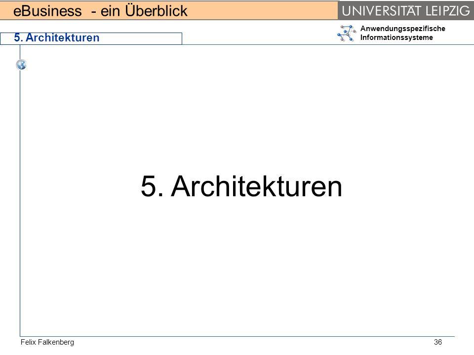 5. Architekturen 5. Architekturen