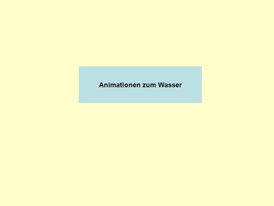Animationen zum Wasser