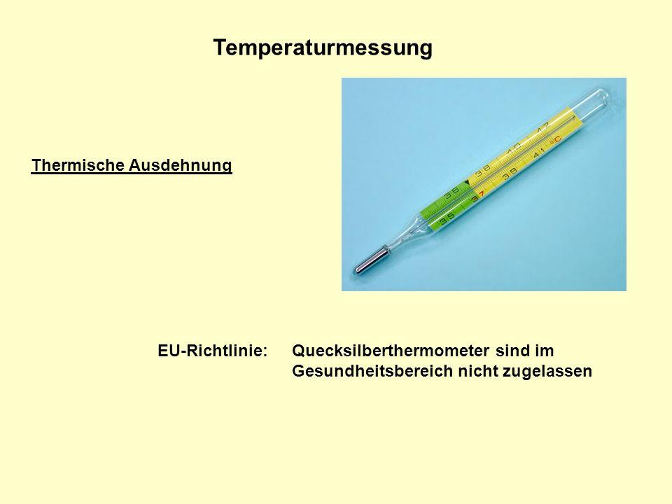 Temperaturmessung Thermische Ausdehnung