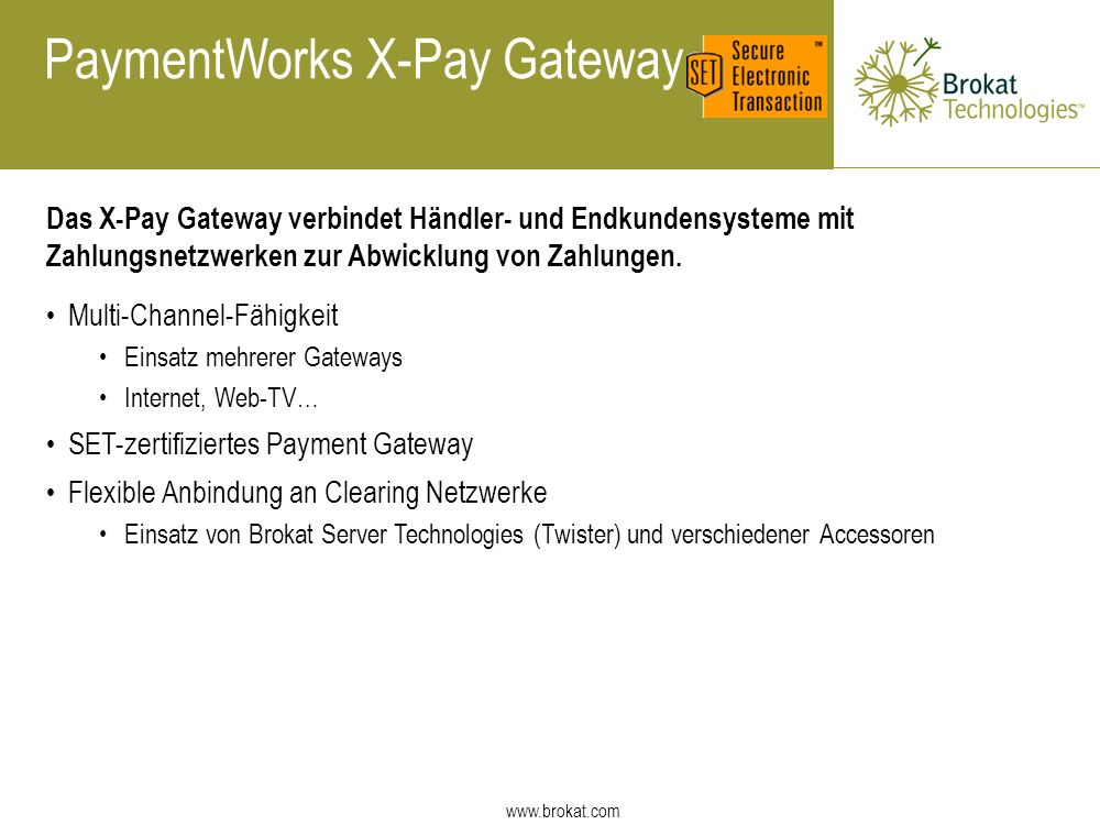 PaymentWorks X-Pay Gateway
