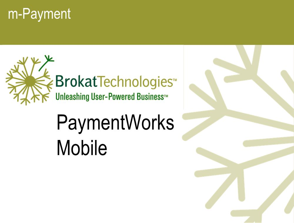 m-Payment PaymentWorks Mobile