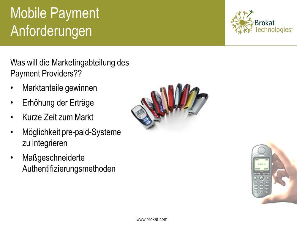Mobile Payment Anforderungen