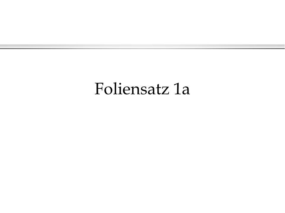 Foliensatz 1a
