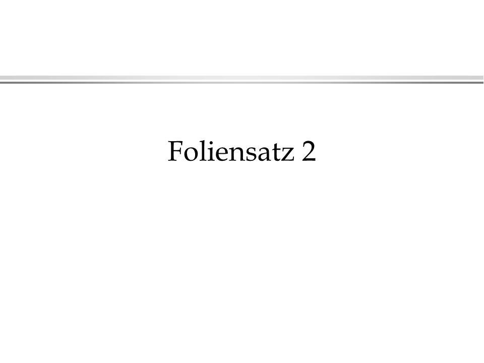 Foliensatz 2