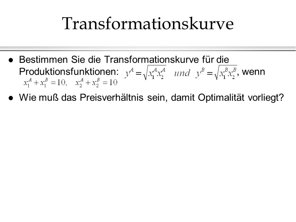 Transformationskurve