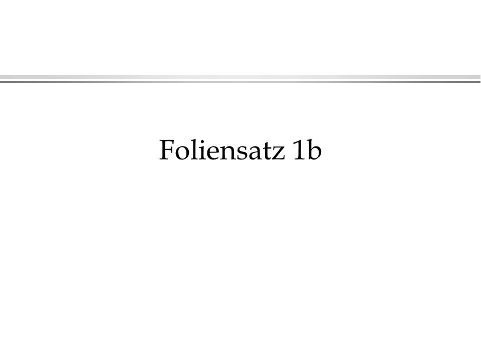 Foliensatz 1b