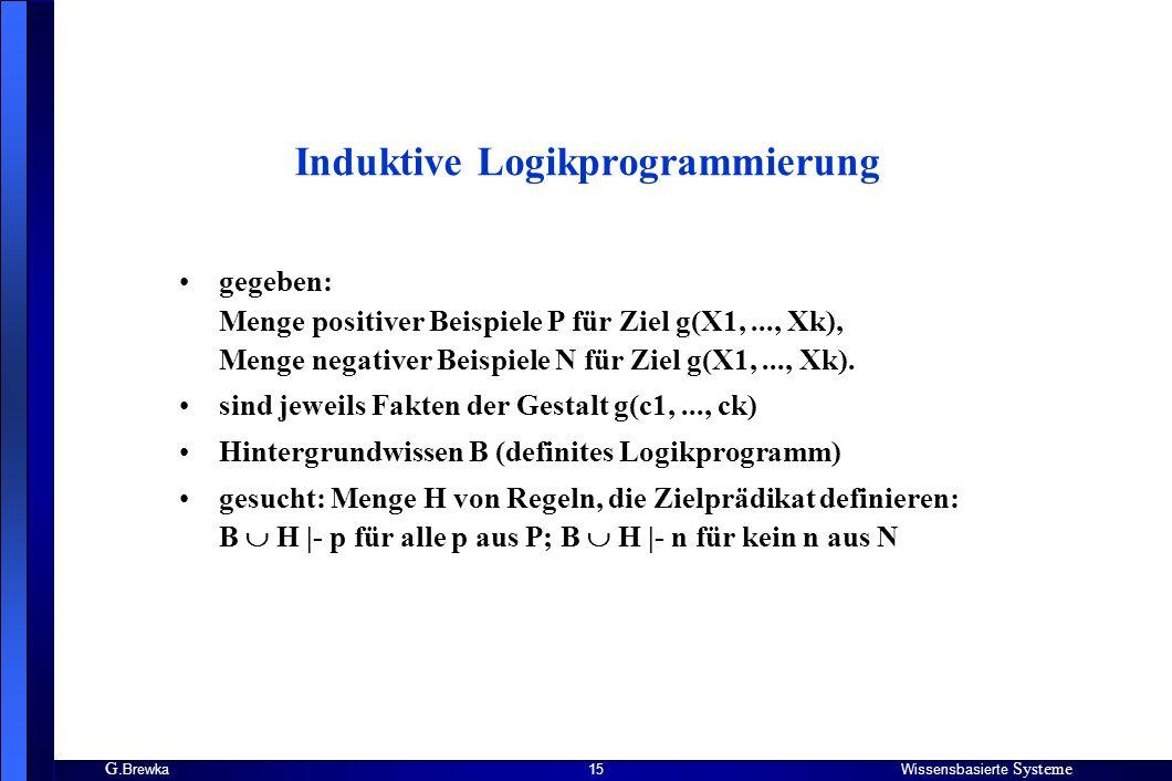 Induktive Logikprogrammierung