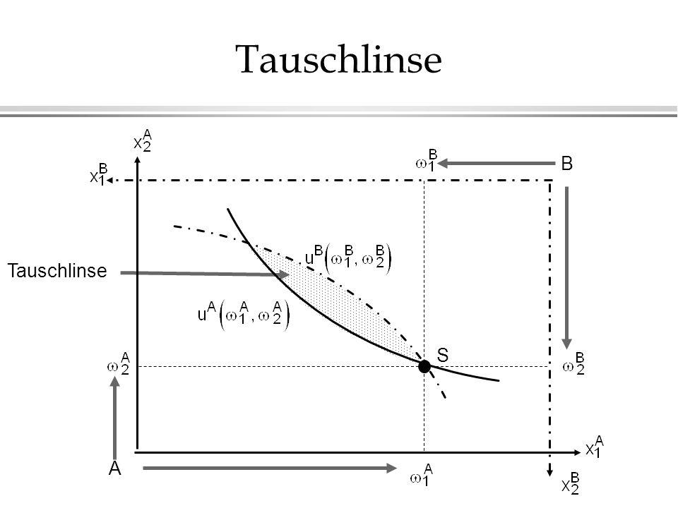 Tauschlinse B Tauschlinse S A