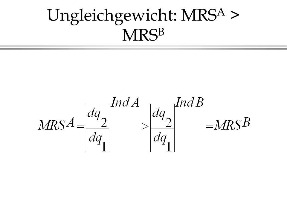 Ungleichgewicht: MRSA > MRSB