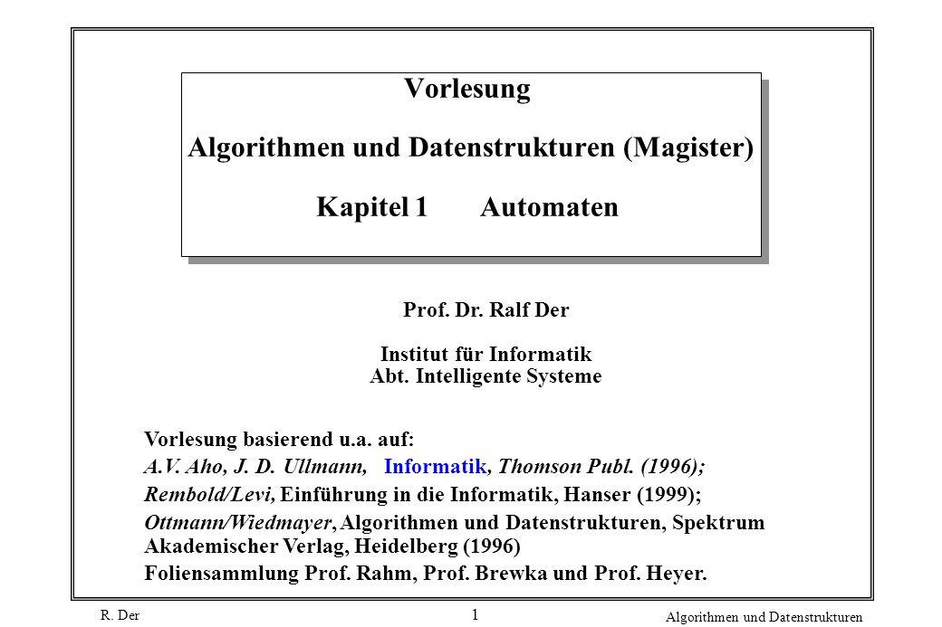 Institut für Informatik Abt. Intelligente Systeme