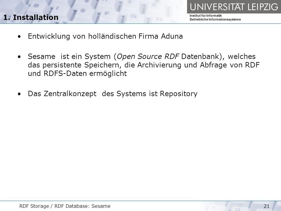Entwicklung von holländischen Firma Aduna