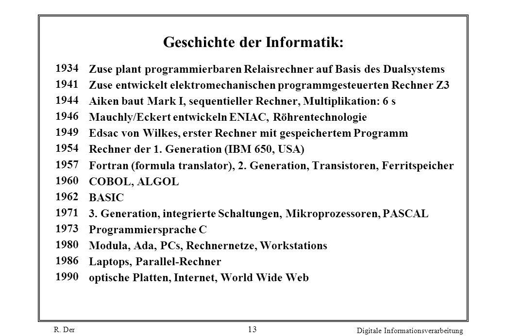 Geschichte der Informatik: