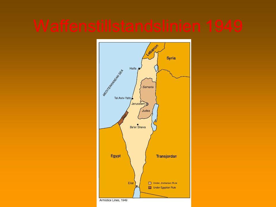 Waffenstillstandslinien 1949