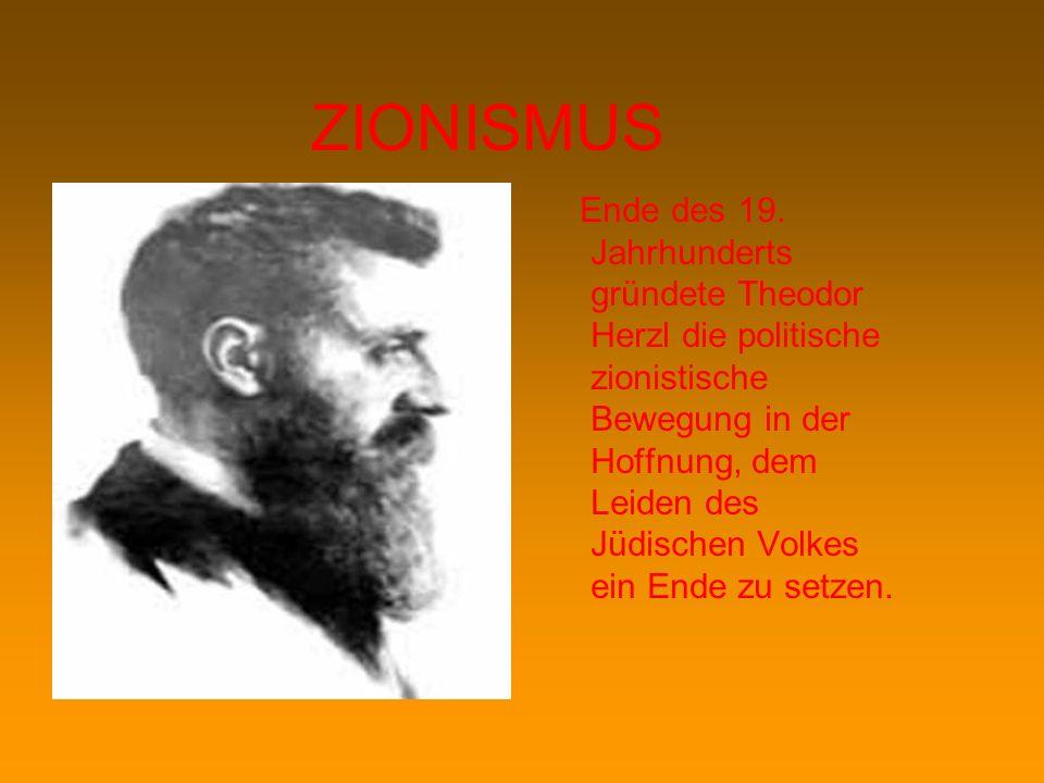 ZIONISMUS