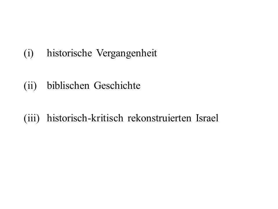 historische Vergangenheit