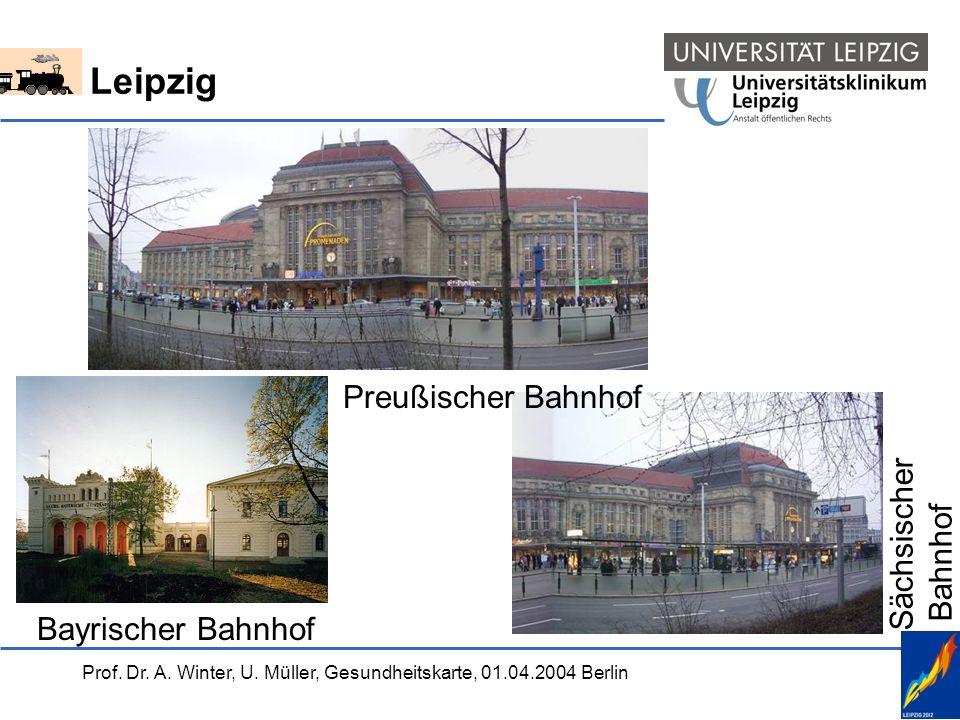 Leipzig Preußischer Bahnhof Sächsischer Bahnhof Bayrischer Bahnhof