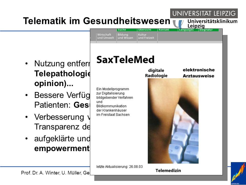 Telematik im Gesundheitswesen