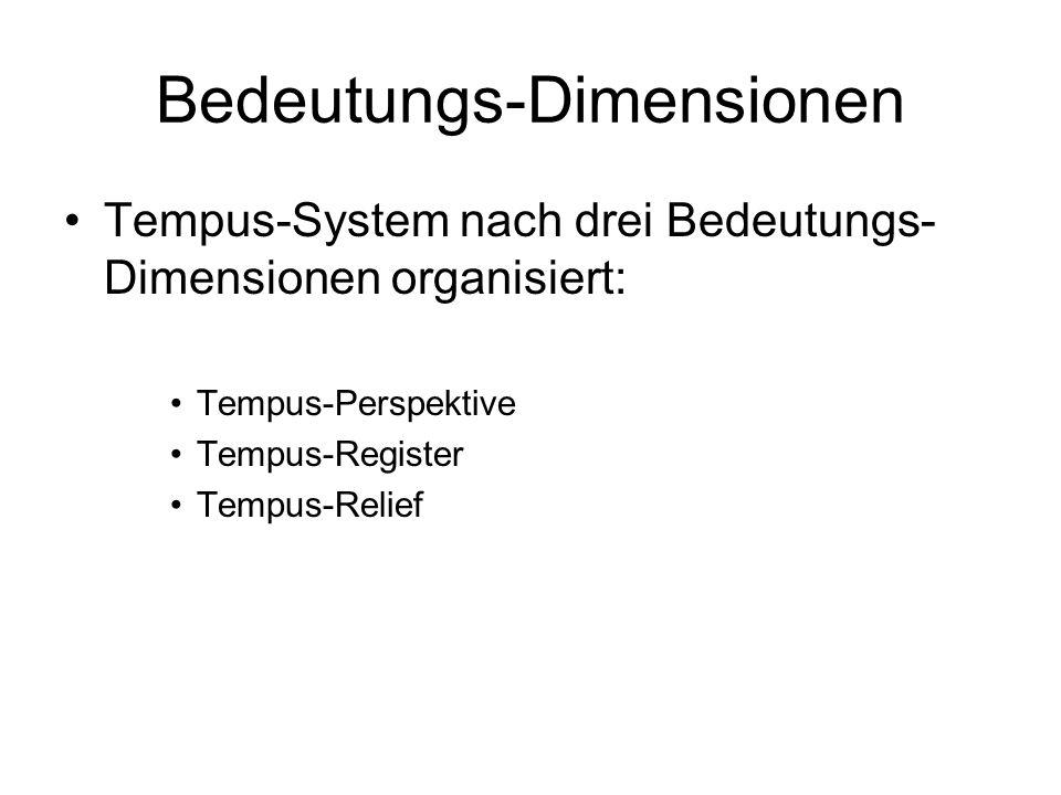 Bedeutungs-Dimensionen