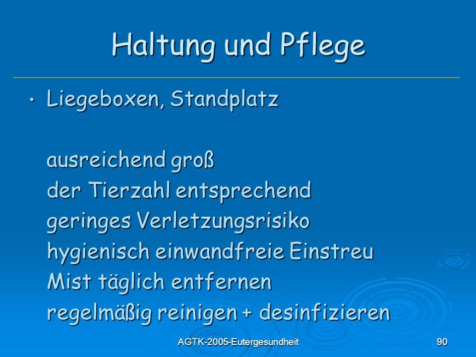 AGTK-2005-Eutergesundheit