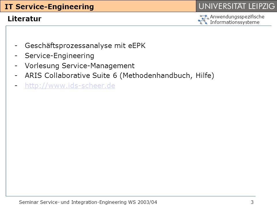 IT Service-Engineering