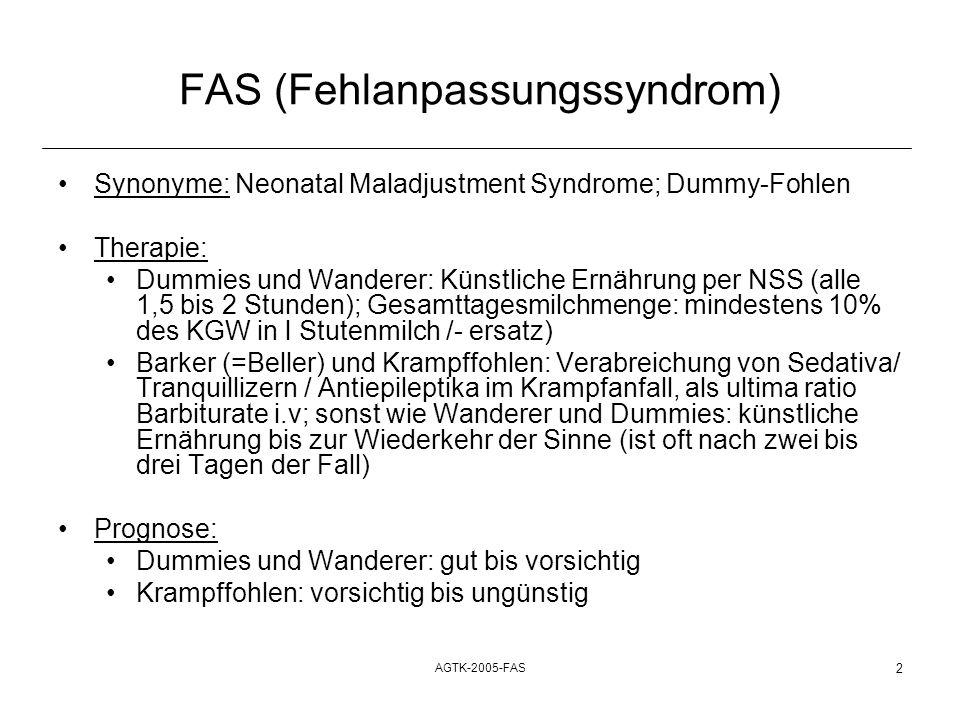 FAS (Fehlanpassungssyndrom)